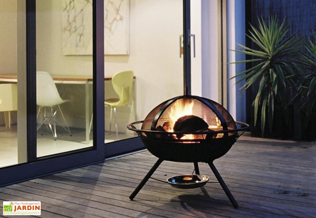 Barbecue Braséro Charbon de Bois Safety