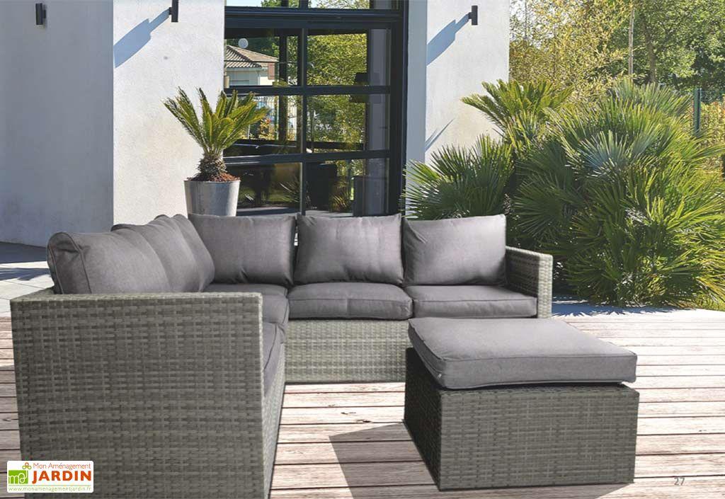 salon de jardin contemporain mon am nagement jardin. Black Bedroom Furniture Sets. Home Design Ideas