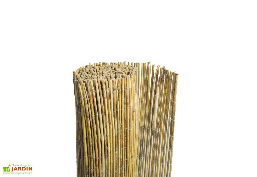 Cl ture naturelle en bambou 1 5x5m france green for Cloture naturelle