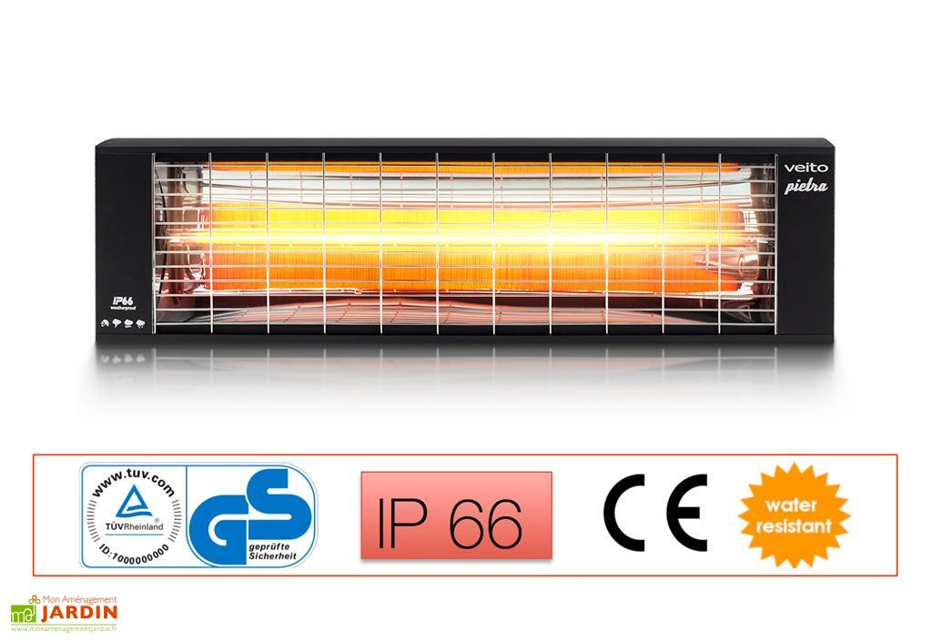 chauffage infrarouge etanche