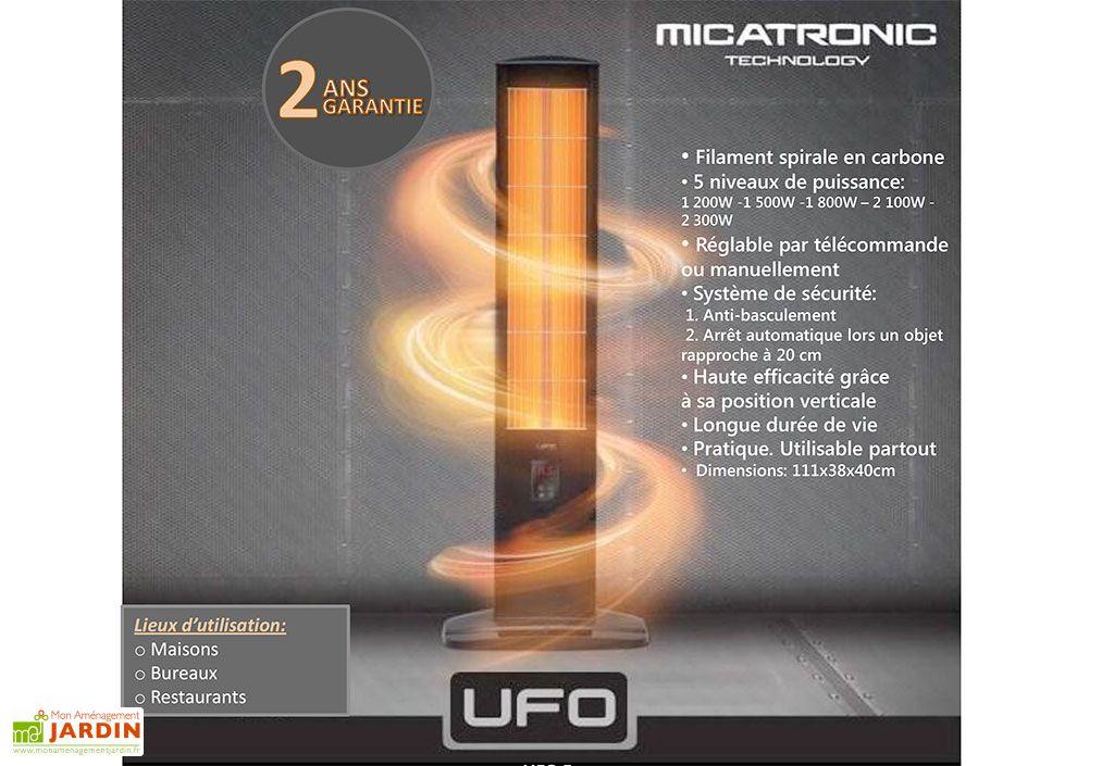 Chauffage Extérieur Micatronic (1200W à 2300W)
