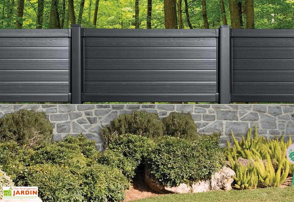 kit panneau polypropyl ne aspect bois noir 195x12 5x102. Black Bedroom Furniture Sets. Home Design Ideas