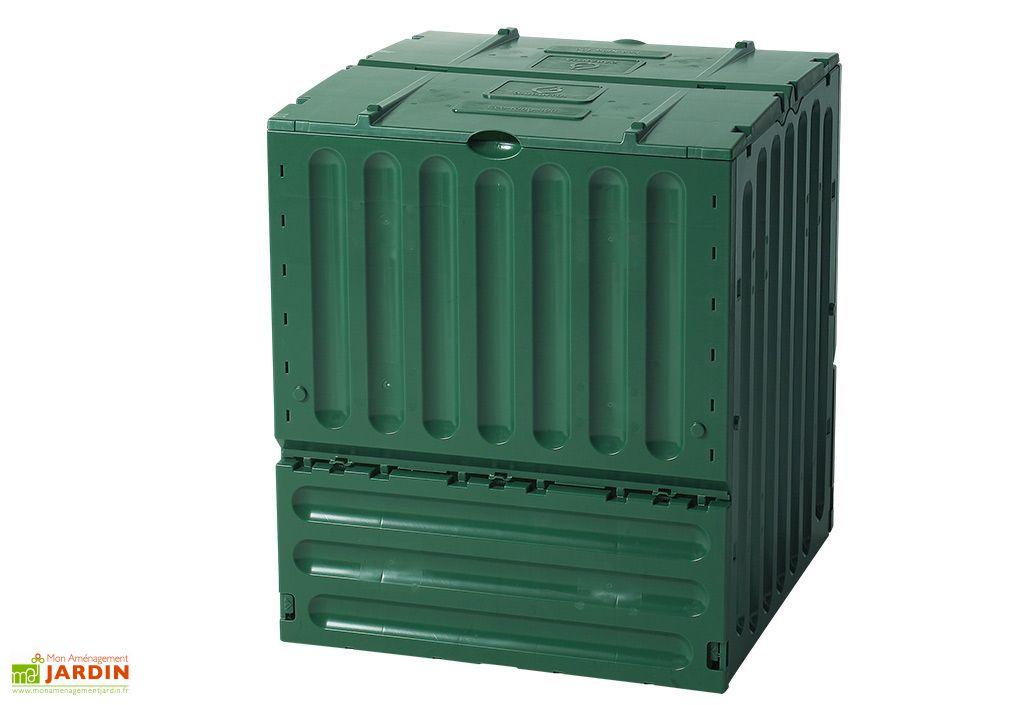 composteur eco king 600l vert composteur eco king 600 litres garantia. Black Bedroom Furniture Sets. Home Design Ideas