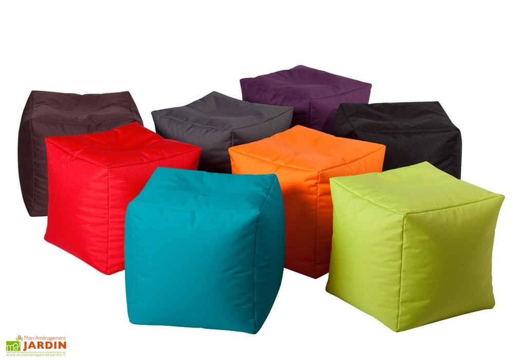 Pouf Coussin Jumbo Bag Cube