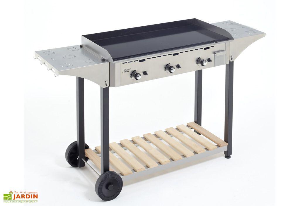 desserte inox pour plancha roller grill 900 roller grill. Black Bedroom Furniture Sets. Home Design Ideas