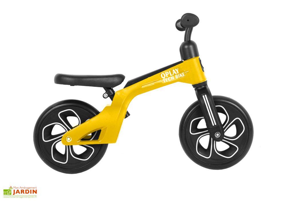 Draisienne Enfant Tech Bike Qplay Jaune