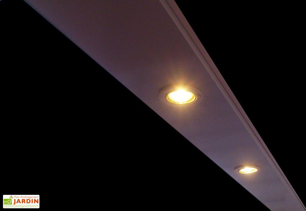 Kit Eclairage 4 Lampes pour Pergolas Bio