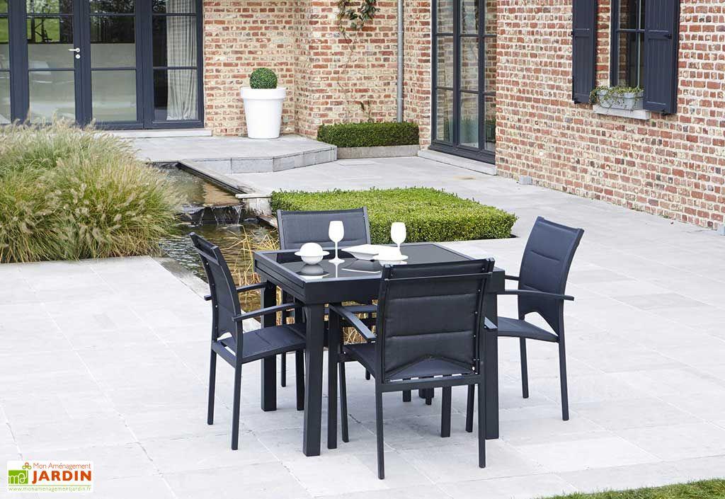 Awesome Table De Jardin Extensible Gracioza Contemporary