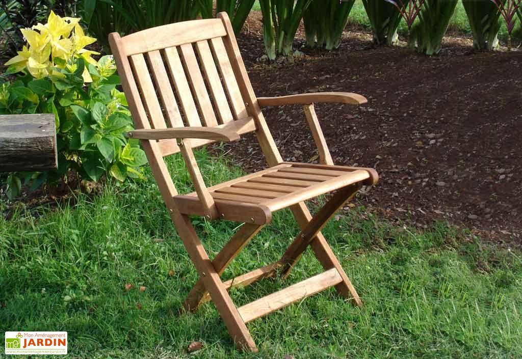 fauteuil jardin pliant bois acacia acapulco fauteuil. Black Bedroom Furniture Sets. Home Design Ideas