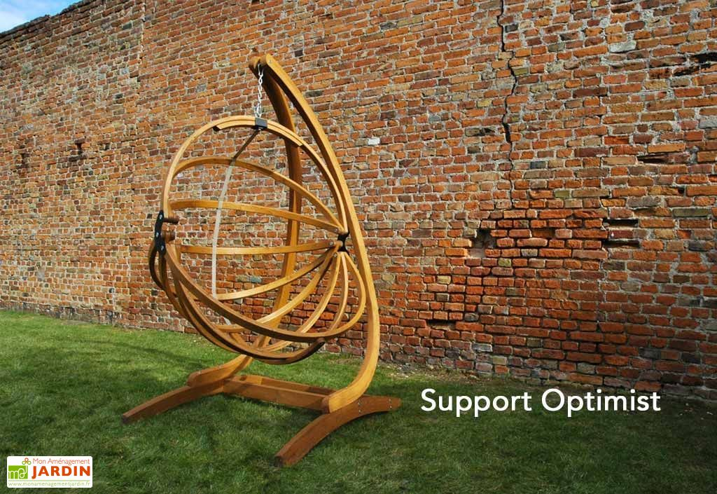 fauteuil suspendu en bois autoclave gaya sans support jagram. Black Bedroom Furniture Sets. Home Design Ideas