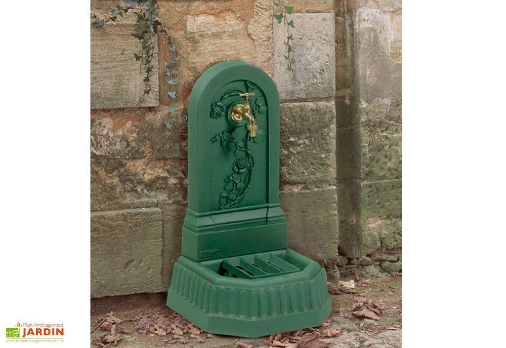 emejing fontaine murale de jardin en fonte contemporary. Black Bedroom Furniture Sets. Home Design Ideas