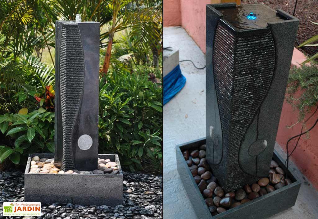 Fontaine de Jardin Granit Harmonia