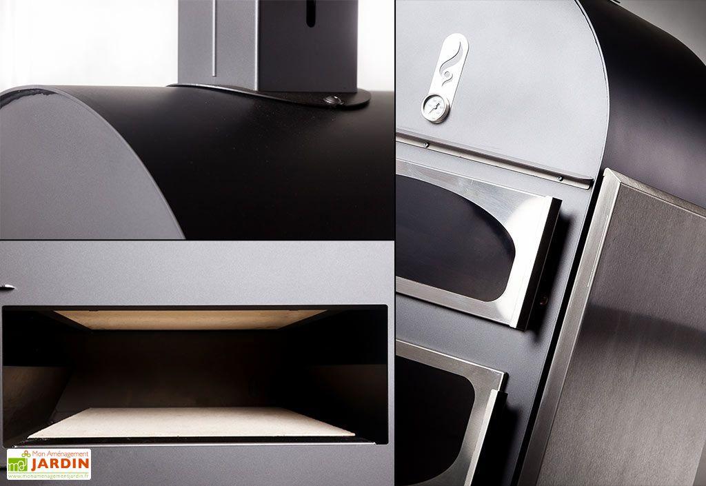 four bois pain et pizza poser alto inox td cr ations. Black Bedroom Furniture Sets. Home Design Ideas