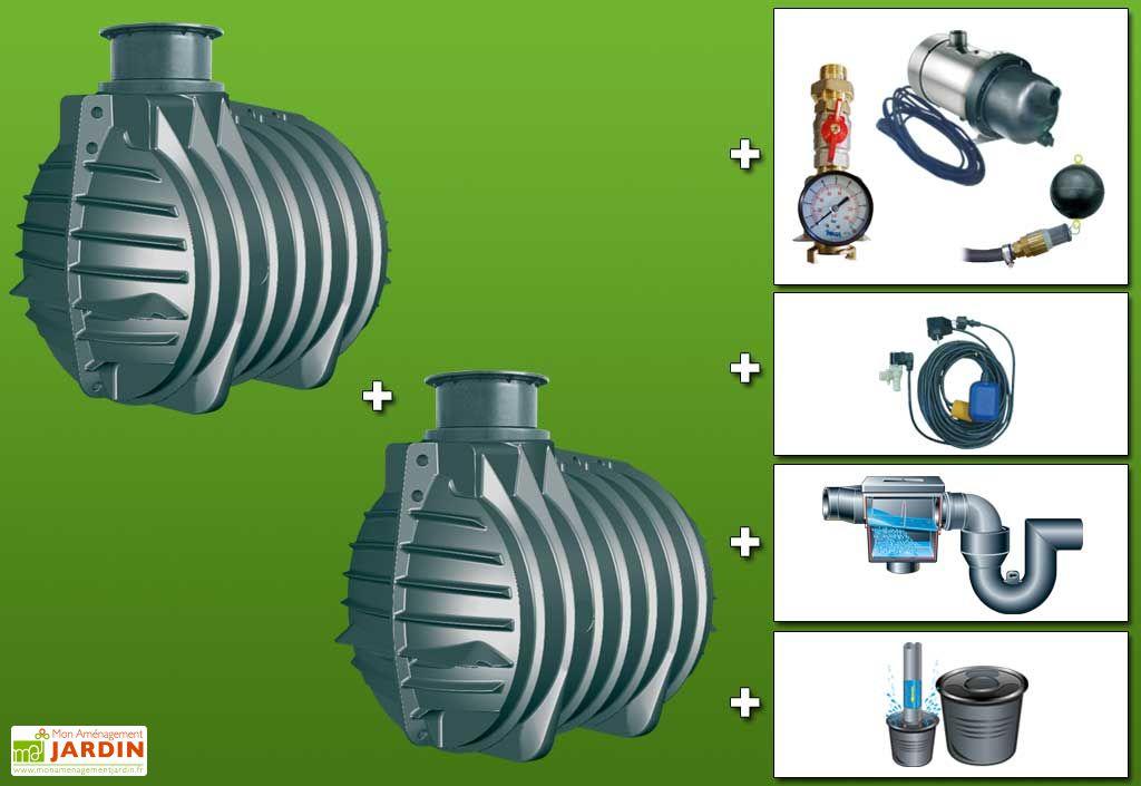 Cuve recuperateur eau Standard 9000 L
