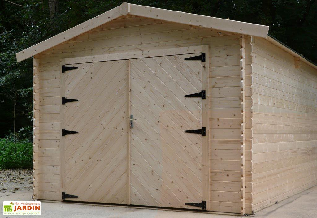 Garage Bois 28 mm (328x478cm) S8937