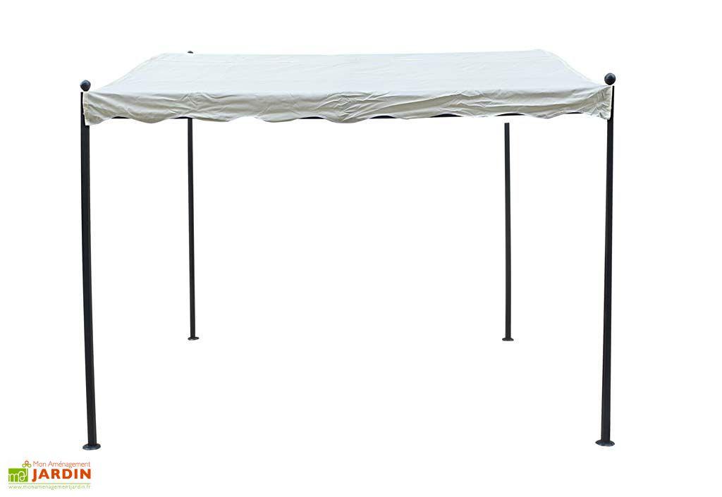 tonnelle fer forge adoss e 3x2 5 pergola tente de jardin terrasse reception. Black Bedroom Furniture Sets. Home Design Ideas