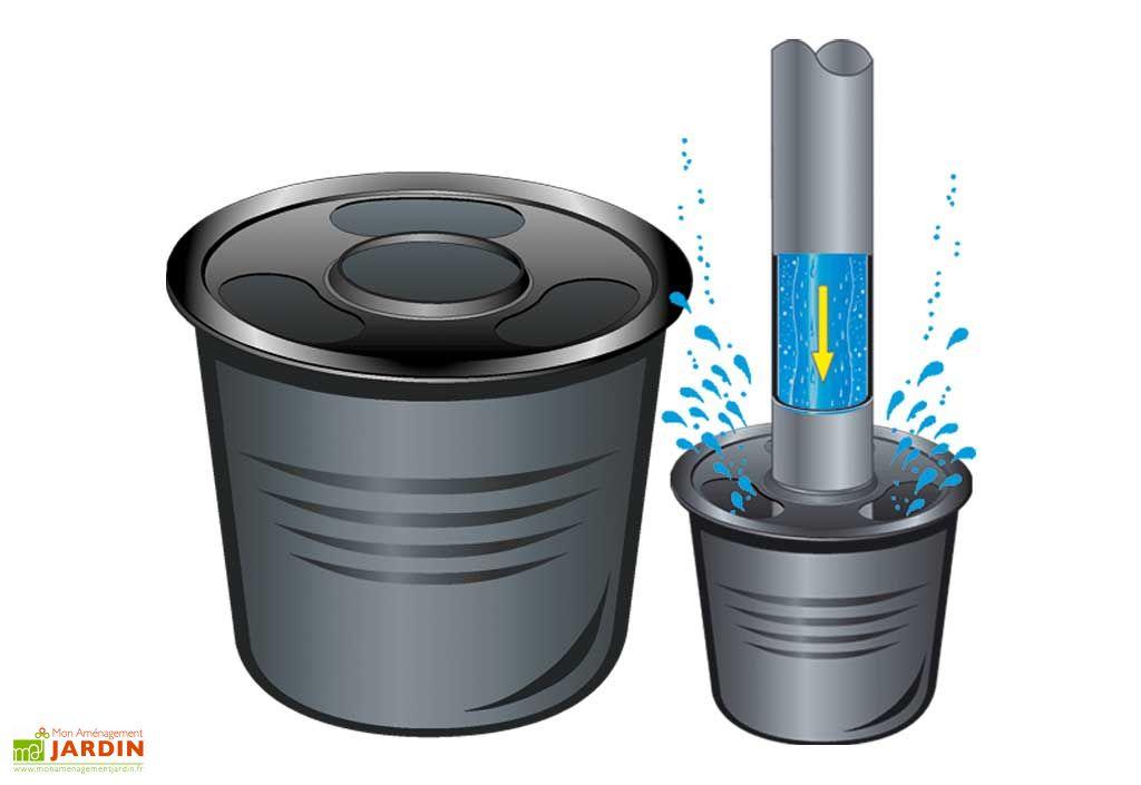Cuve recuperateur eau standard 2000 l greenlife for Cuve recuperateur eau de pluie