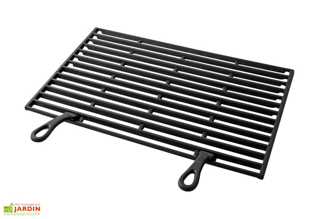 Grille en Fonte pour Barbecue 54 x 34 cm Buschbeck