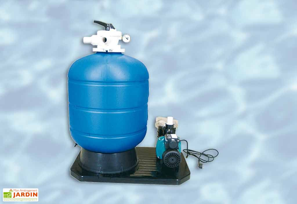 Groupe de filtration a sable Maxi Weka
