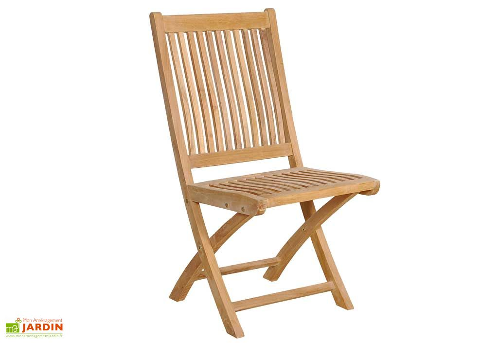 Chaise de Jardin Teck Pliante Borneo