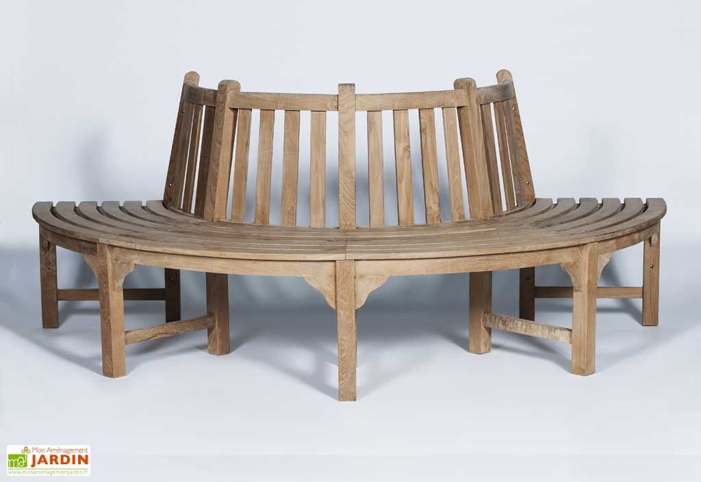 banc de jardin teck stafford banc en teck stafford wave. Black Bedroom Furniture Sets. Home Design Ideas