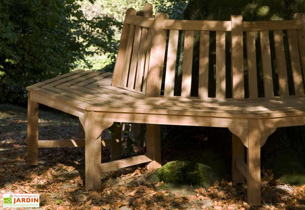 Banc de jardin Teck Winston