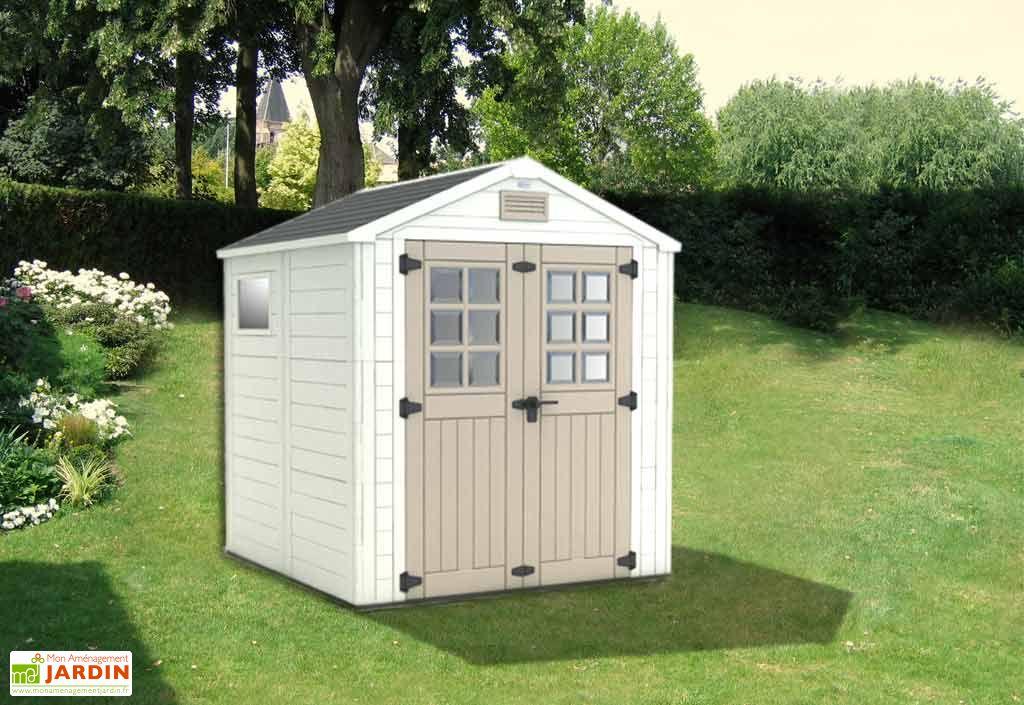 Abri de Jardin PVC Horizon 77 (210x210x240)