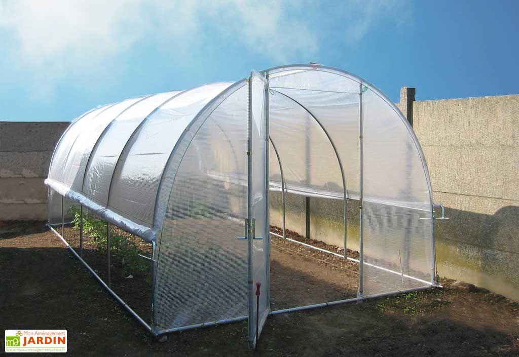 Serre tunnel jardiniere 3x6 tonneau Piscine bois rectangulaire 3x6