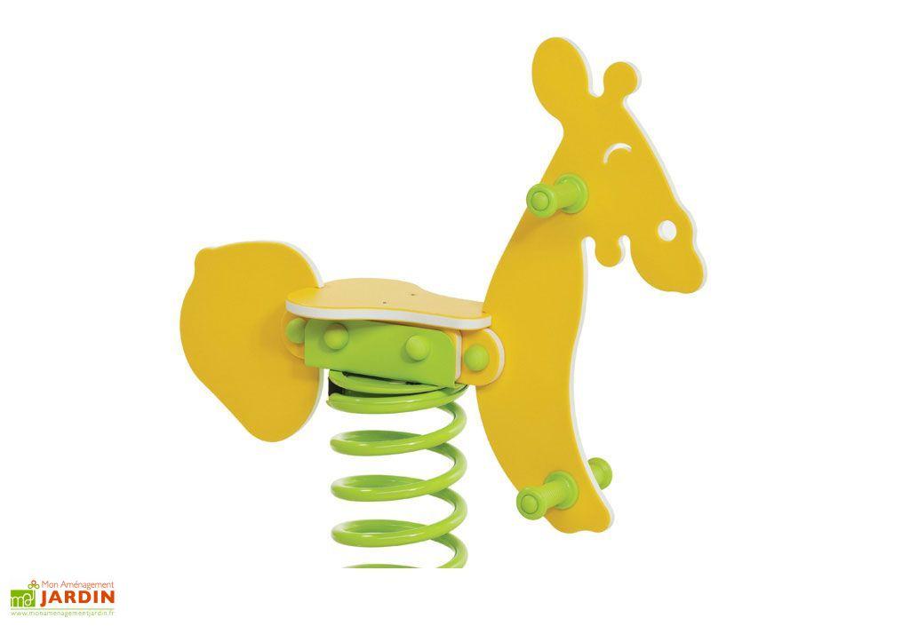 Jeu sur Ressort Girafe