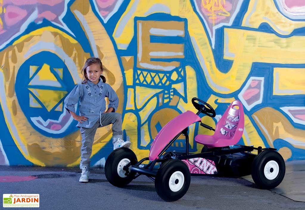 Kart à Pédales Berg Compact Pink BFR