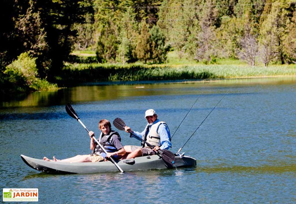 Kayak Adulte Lifetime Ficher + Pagaie