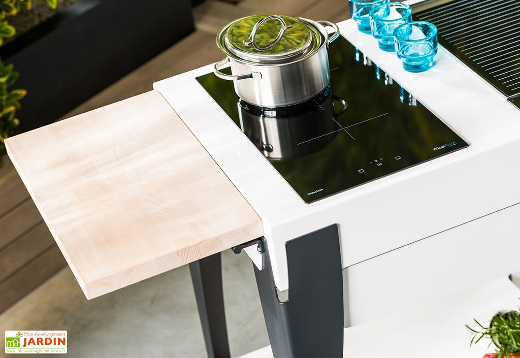 cuisine d 39 exterieur acier thermolaqu duo cook 39 n grill. Black Bedroom Furniture Sets. Home Design Ideas