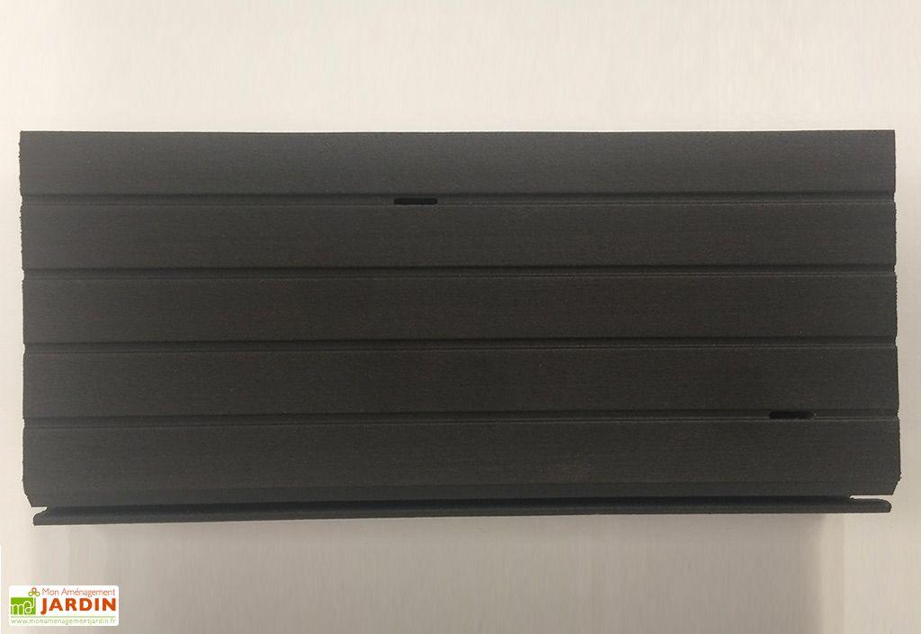 lames de terrasse composite emboiter gris bross blitz. Black Bedroom Furniture Sets. Home Design Ideas