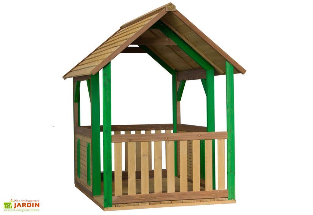Maison Enfant Bois Cabane Forest