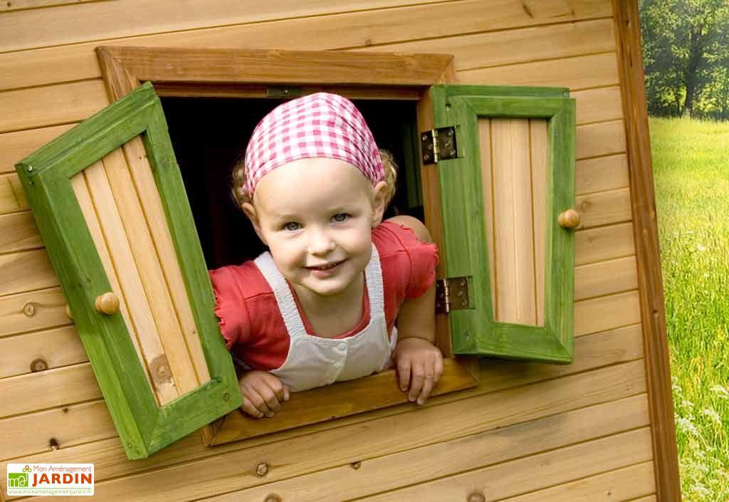 Maison Enfant Bois Robin