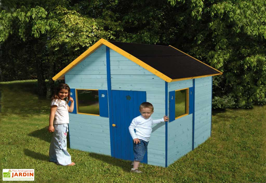 Maison Enfant Bois Marinette