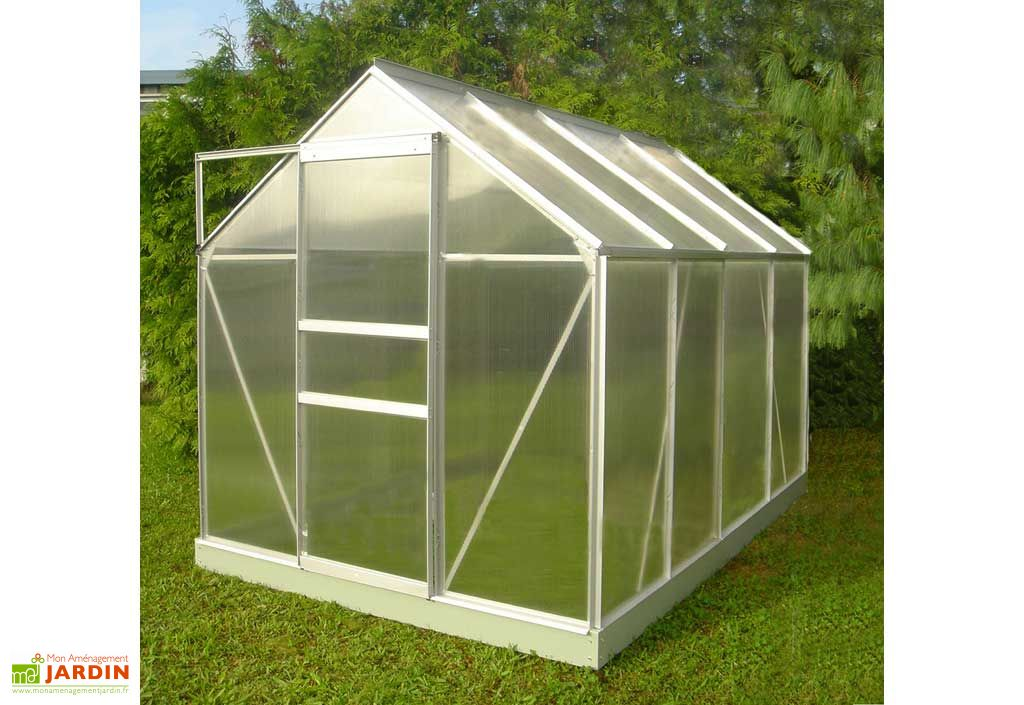 Serre de jardin polycarbonate mauka 86 narbonne lams for Entretien jardin narbonne