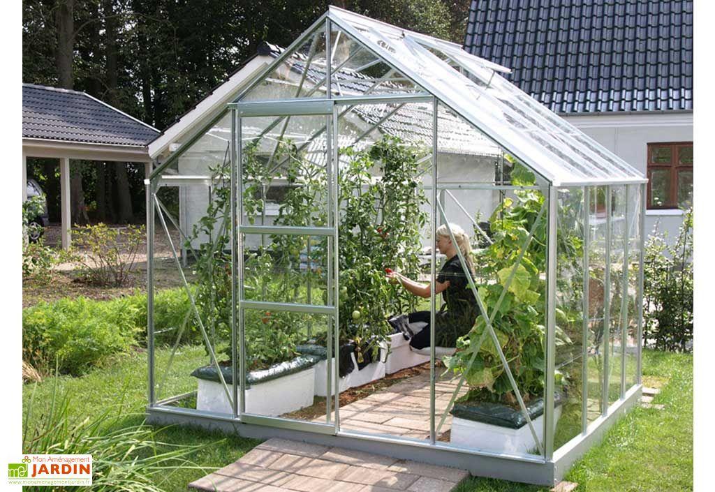 Serre de jardin en verre MERKUR 6700 Lavandula