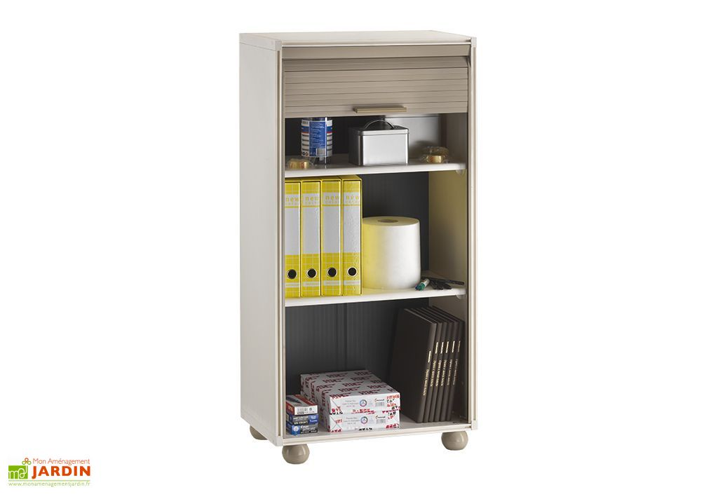 armoire de rangement r sine 1 porte modulable 126cm garofalo. Black Bedroom Furniture Sets. Home Design Ideas