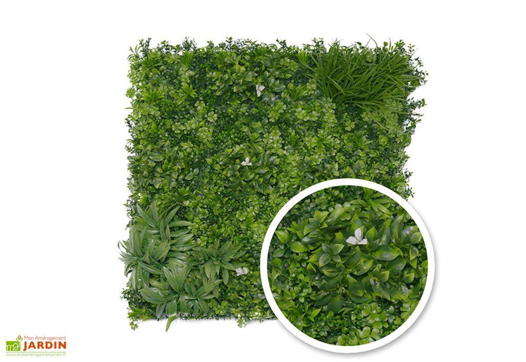 mur végétal liseron 1m2 France Green traité anti UV