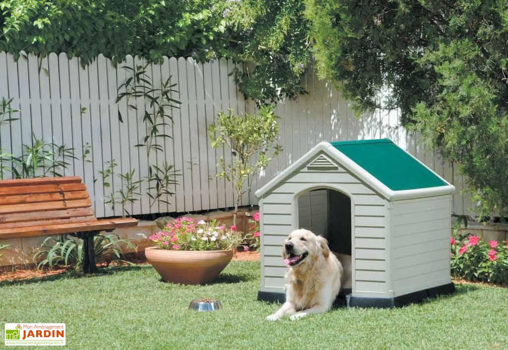 niche pour chien resine niche chien en r sine chal t jardin. Black Bedroom Furniture Sets. Home Design Ideas