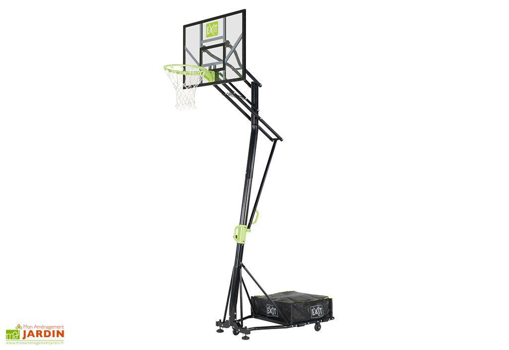 Panier de basket portable sur pied galaxy exit toys - Panier de basket amovible ...