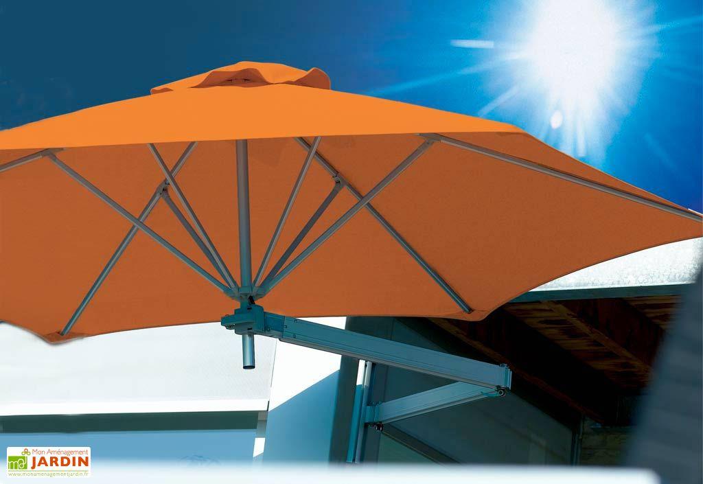 Parasol Paraflex Mural B185 Hexa 270 Shadow Nero