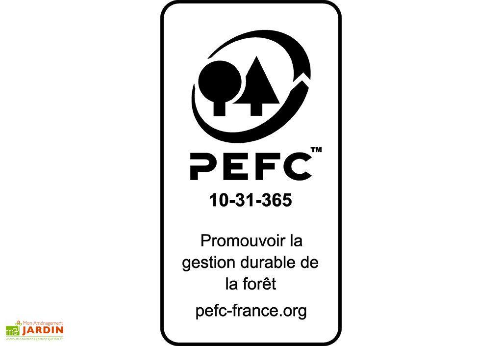 PEFC de la Pergola Bois Florence (320x60x233)