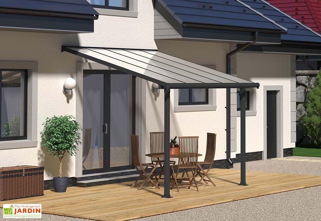 pergola aluminium et polycarbonate 16 mm olympia 3 05x3 m pls coloris palram. Black Bedroom Furniture Sets. Home Design Ideas