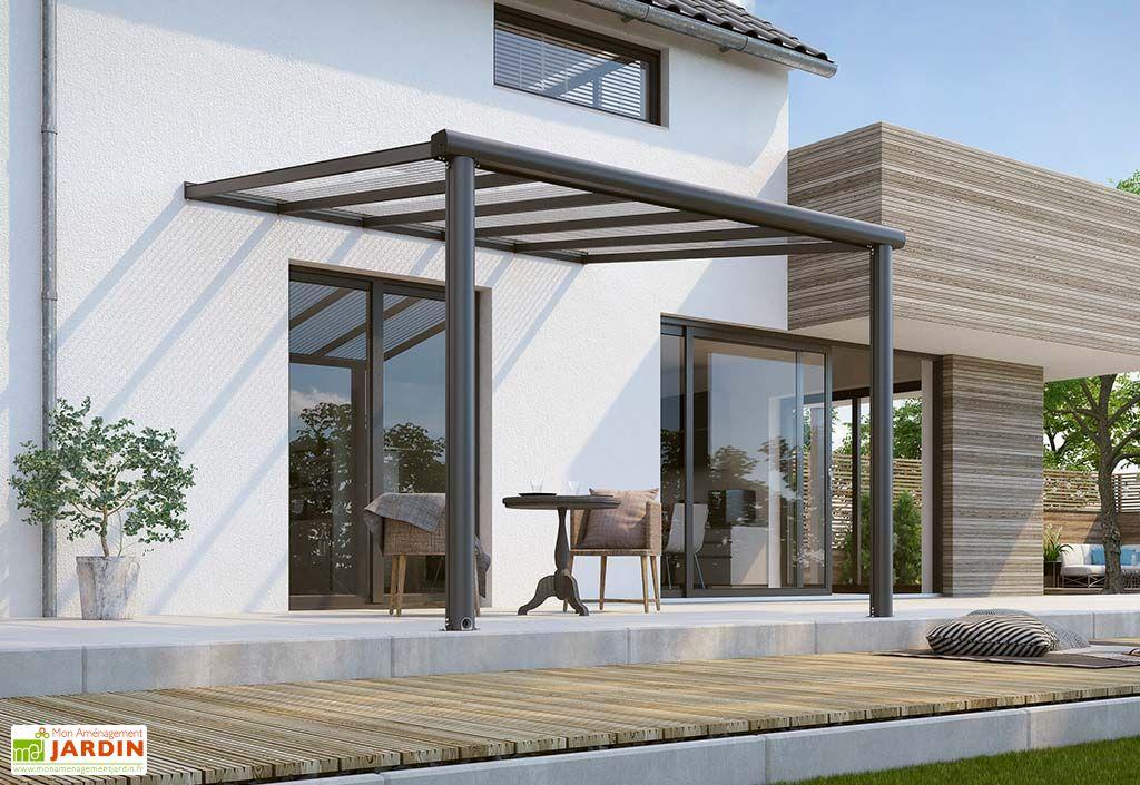 Pergola Murale en Aluminium et Polycarbonate Gardendreams Compact Edition 7,6 m²