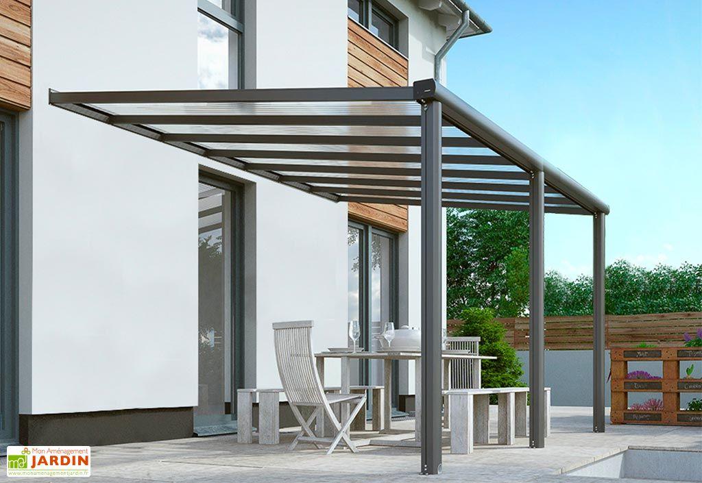 Pergola Murale en Aluminium et Polycarbonate Gardendreams Compact Edition 13 m²