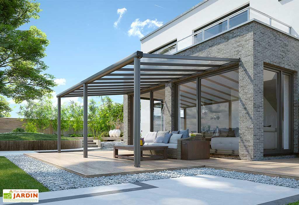 Pergola en Aluminium et Polycarbonate Gardendreams Compact Edition 18 m²