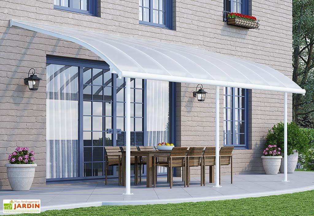 Pergola en Aluminium et Polycarbonate Joya 16 m² (3 x 5,5 m)