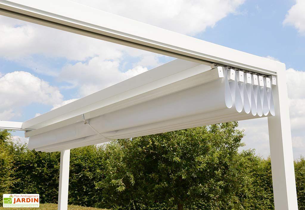 Pergola en Aluminium Prostor Cabana 3,50 x 3,50 m + Toile PVC Etanche